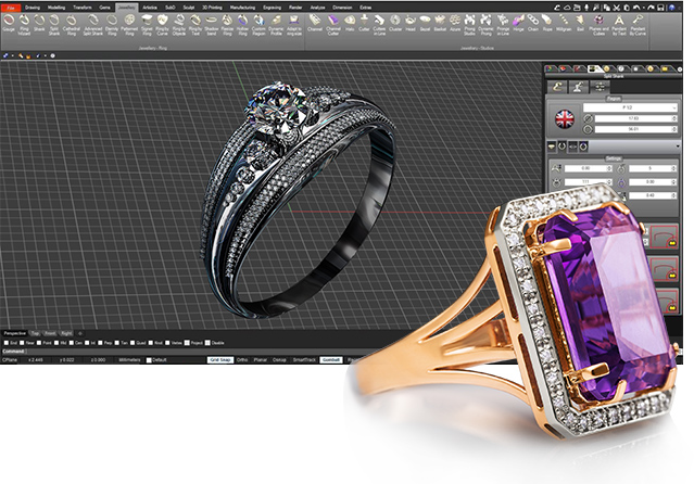 Creating Perfection Through CAD Jewelry Design Software