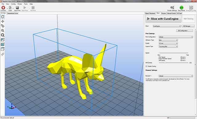 Is the Online Software-Assisted 3D Printing the Future?