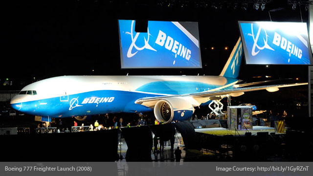 Boeing 777 Freighter Launch