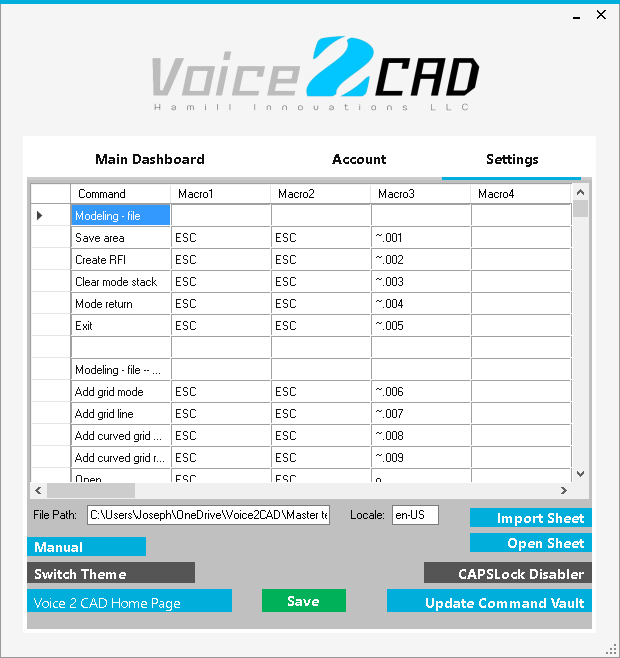 Voice to cad