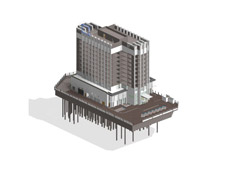 BIM Model Construction Drawing