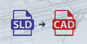 SLD to AutoCAD Conversion